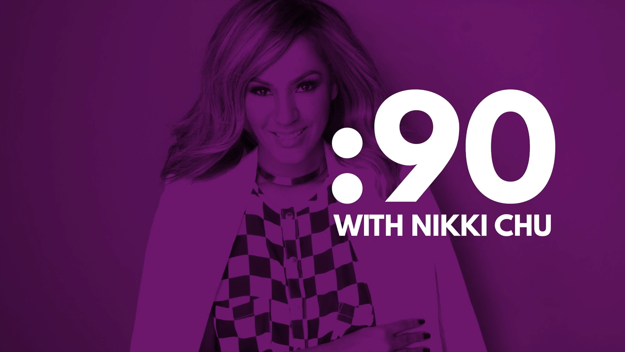 ":90 with Nikki Chu, Host of ""Unboxed with Nikki Chu"""
