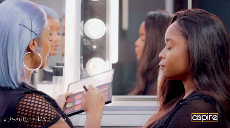 beauty talk with tae | aspireTV | cute summer look