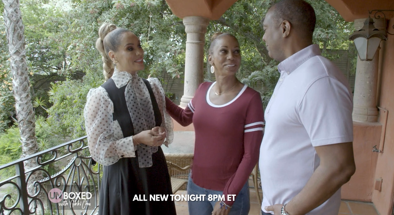 Tonight at 8pm ET! Catch a New Episode of Unboxed with Nikki Chu featuring Holly Robinson Peete and Rodney Peete!