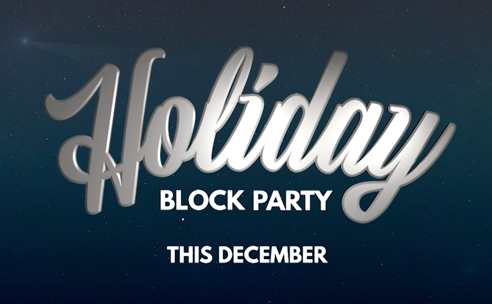 Party With Us All December Long!